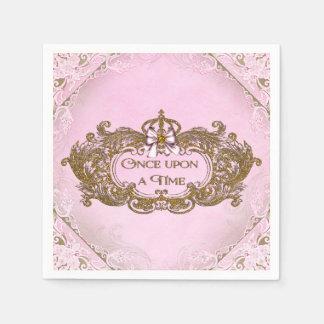 Once Upon a Time Birthday Party Paper Napkin