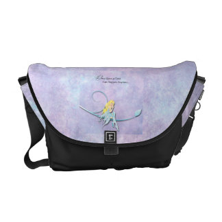 Once Upon a Time Blue Fairy Messenger Bag