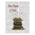 Once Upon A Time Books Postcard