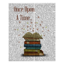 Once Upon A Time Books Poster