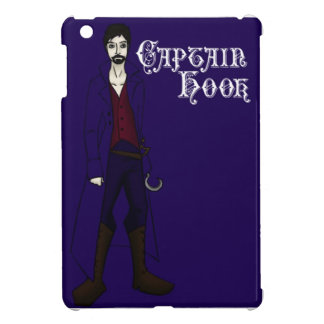 Once Upon a Time Captain Hook Sketch iPad Mini Cases