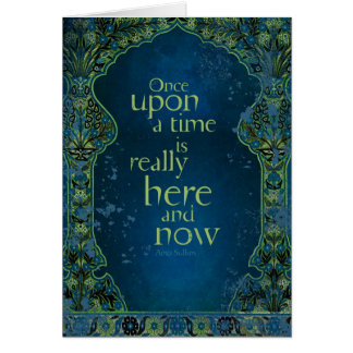 Once Upon a Time... Card
