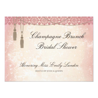 Once Upon a Time Champagne Brunch Bridal Shower Card