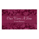 Once Upon A Time Elegant Profile/Business Card