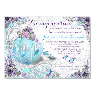 Once Upon a Time Fairy Tale Princess Birthday Card