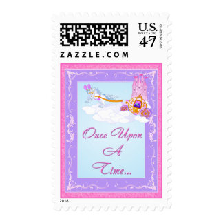 Once Upon A Time Fairy Tale Wedding Postage