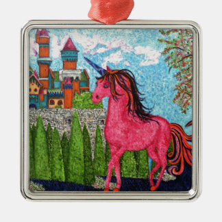 Once Upon a Time FairyTale Metal Ornament