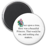 Once upon a time fridge magnet