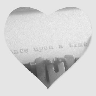 Once Upon A Time Heart Sticker