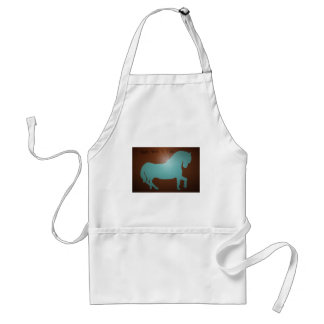 ONCE UPON A TIME HORSE ADULT APRON