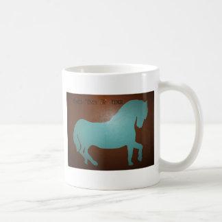 ONCE UPON A TIME HORSE COFFEE MUG