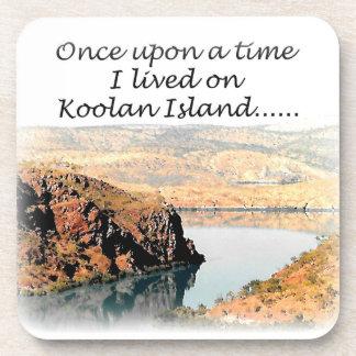 Once upon a time I lived on Koolan Beverage Coaster