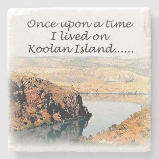 Once upon a time I lived on Koolan Stone Coaster