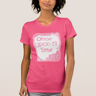 Once Upon A Time in Pink Women's Fuchsia T-Shirt