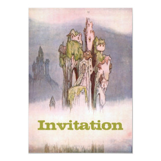 Once Upon A Time 13 Cm X 18 Cm Invitation Card