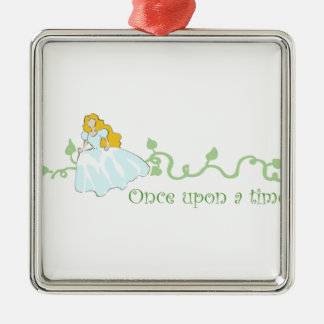 Once Upon A Time Metal Ornament