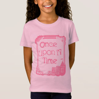 Once Upon A Time Pink Girls' Bella Jersey T-Shirt