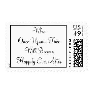 Once Upon a Time Postage Stamp