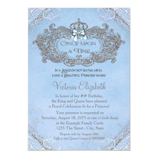 Once Upon A Time Princess Birthday Card