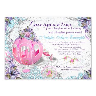 Once Upon a Time Princess Fairy Tale Birthday Card