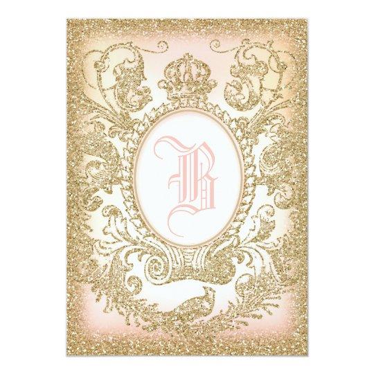 once upon a time princess invitation zazzle. Black Bedroom Furniture Sets. Home Design Ideas