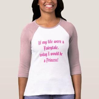 """""""Once Upon A Time"""" Princess Mood T-Shirt"""