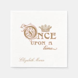 Once Upon a Time Princess Napkin