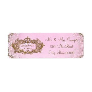 Once Upon a Time Return Address Labels