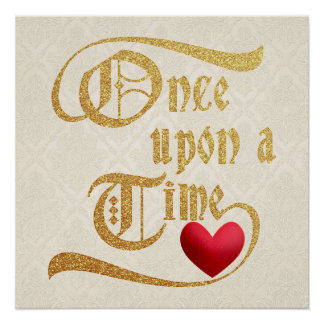 Once Upon a Time Shimmering Poster