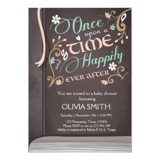 Once Upon A Time Invitations & Announcements | Zazzle