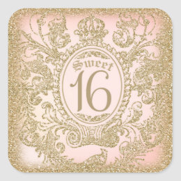 Once Upon a Time Sweet 16 Sticker