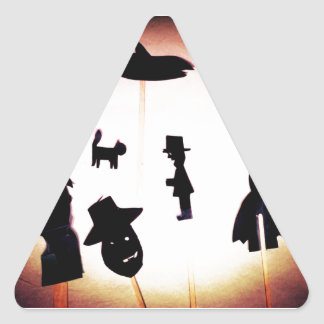 Once Upon A Time Triangle Sticker