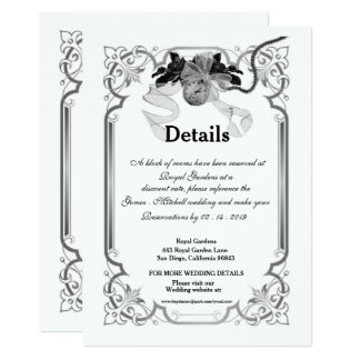 Once Upon A Time Wedding Enclosure Card