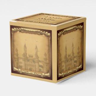 Once Upon a Time Wedding Favor Box
