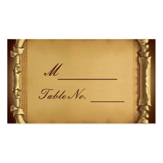 Once Upon a Time Wedding Place Card Business Card Template
