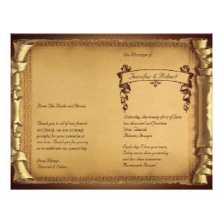 Once Upon a Time Wedding Program Custom Flyer