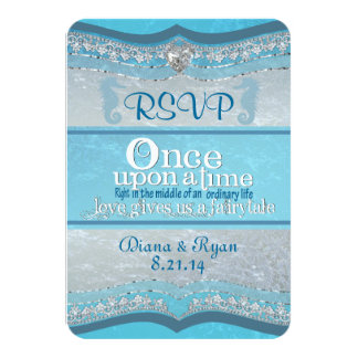 Once Upon A Time Wedding RSVP Cards