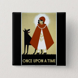 Once Upon a Time - WPA Poster - Button