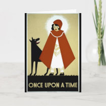 Once Upon a Time - WPA Poster - Card