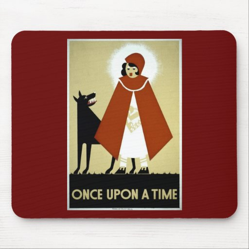 Once Upon a Time - WPA Poster - Mouse Pads