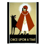 Once Upon a Time - WPA Poster - Postcards