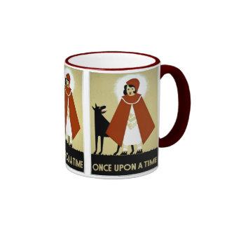 Once Upon a Time - WPA Poster - Ringer Mug