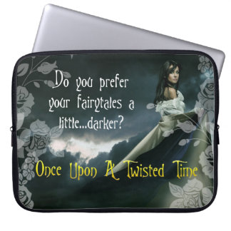 Once Upon A Twisted Time Laptop Bag