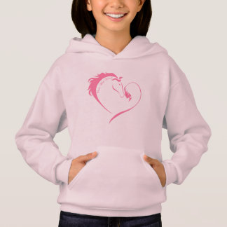 Once Wild Hearts - Girls Hoodie