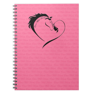 Once Wild Hearts - Notebook