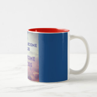 once you become fearless Two-Tone coffee mug