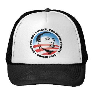 Once You Go 1/2 Black, You Never Go Back Trucker Hat
