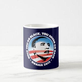 Once You Go Black, You Never Go back Coffee Mug