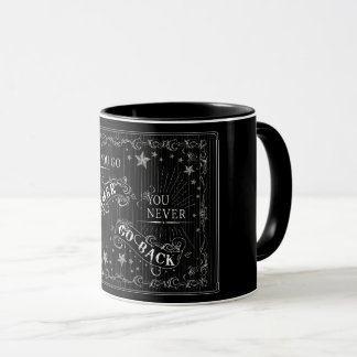 Once You Go Gamer You Never Go Back white on black Mug