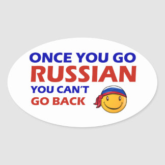 Once you go Russian Stickers